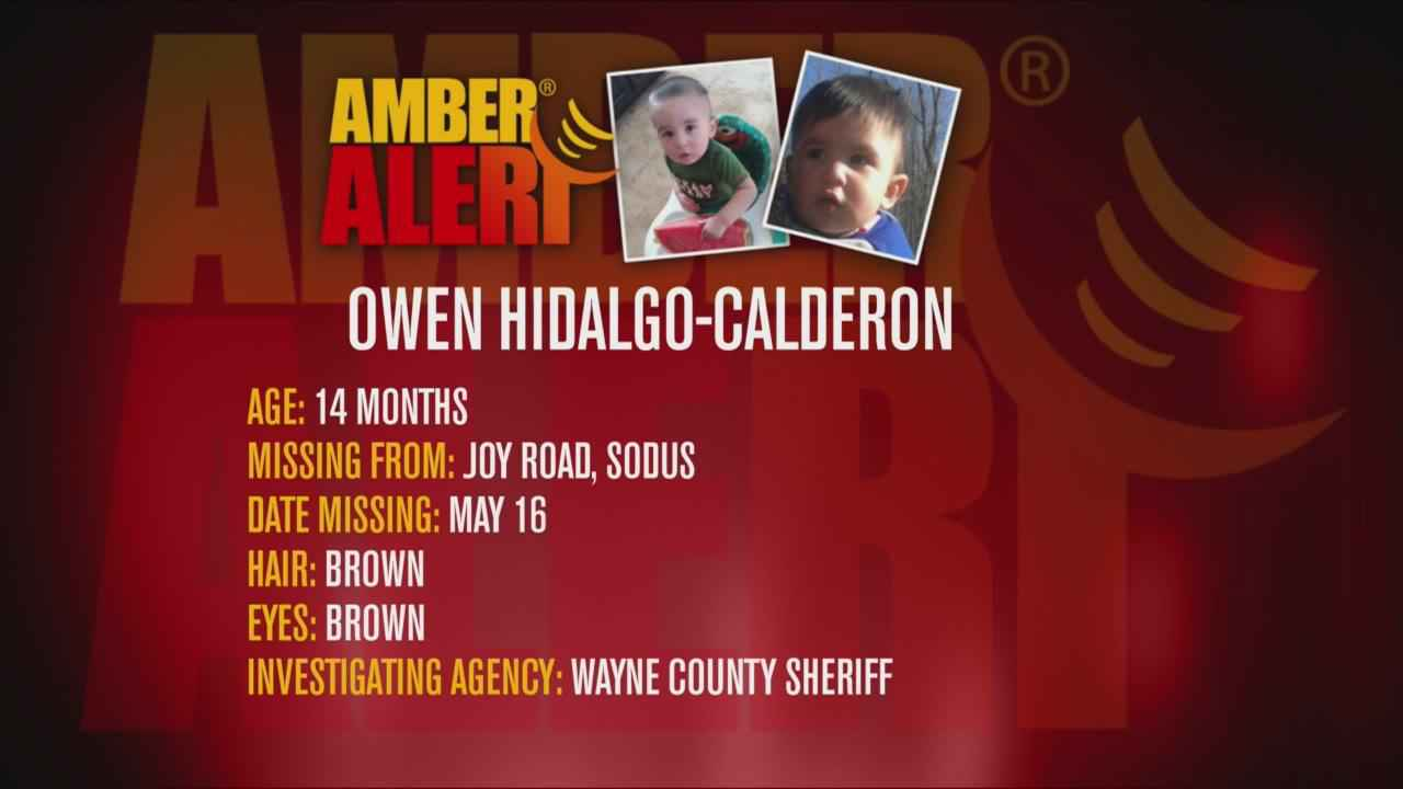 Amber Alert issued for abducted child in NY