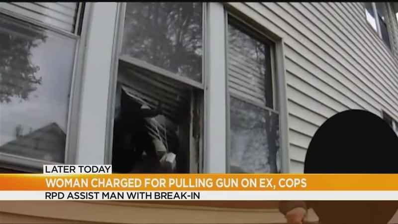 Break-in supported by Rochester Police caught on camera