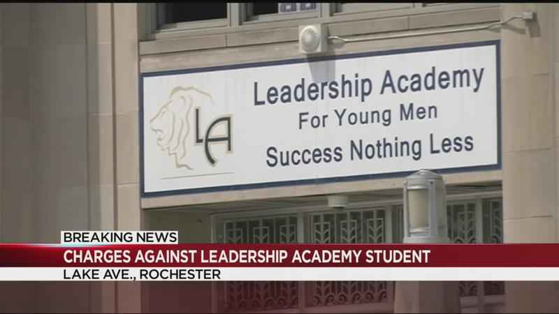 Charges filed against Leadership Academy student