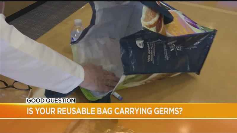 Good Question: Is your reusable grocery bag carrying germs?