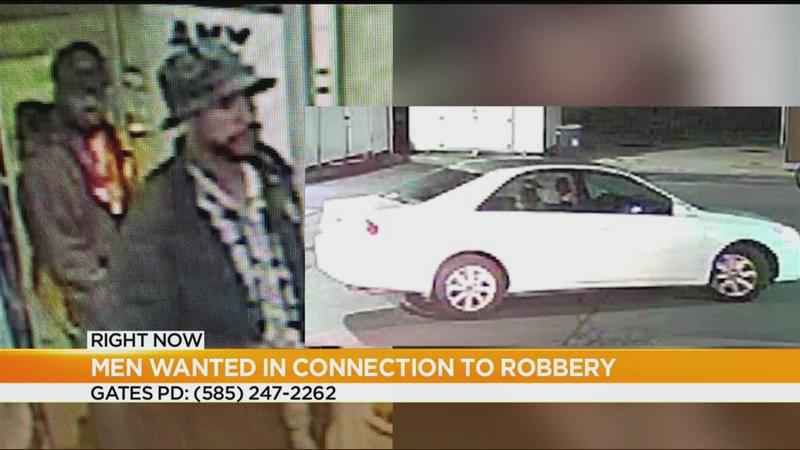 Men wanted in connection with Gates robbery
