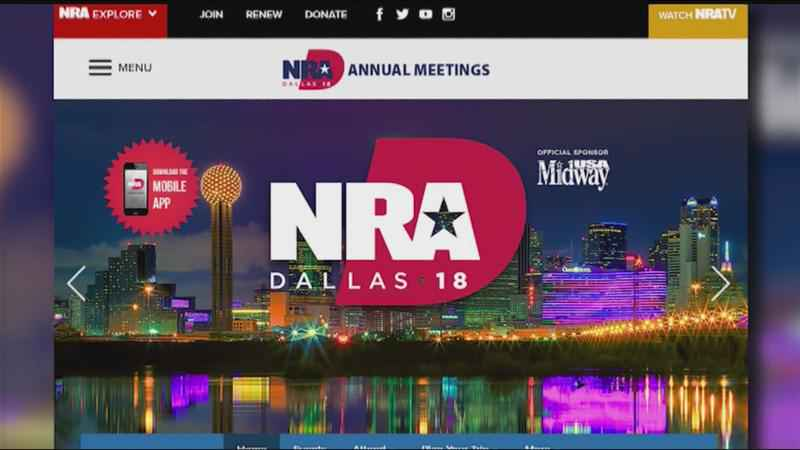 News or Noise: Gun ban at NRA convention