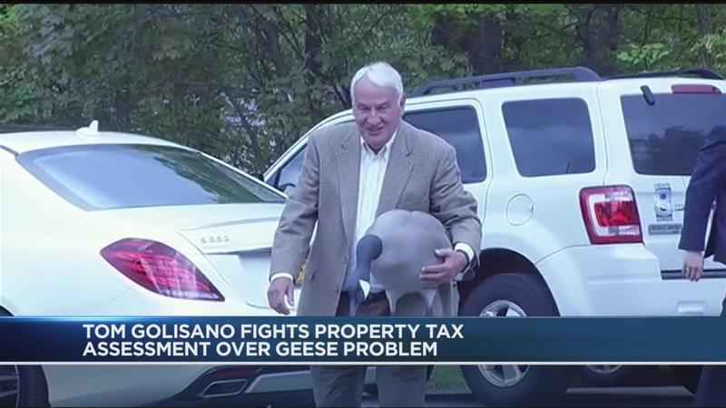 Outraged Golisano faces South Bristol town board on Grievance Day