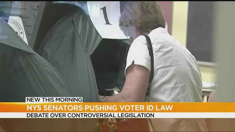 State senators pushing for voter ID law