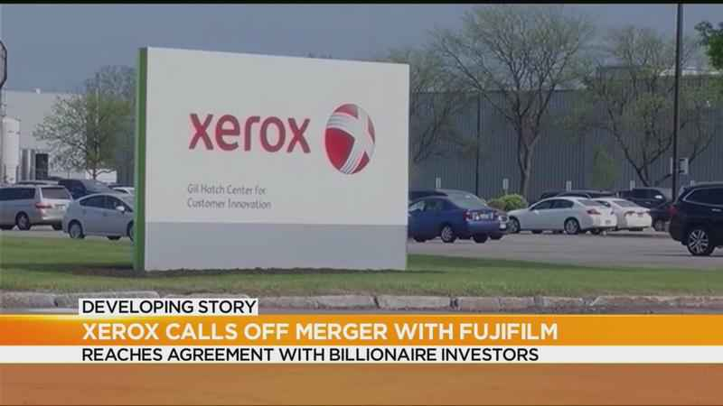 Xerox terminates agreement to merge with Fujifilm, CEO resigns