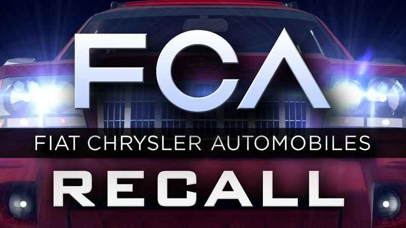 Fiat Chrysler recalls 4.8M vehicles for cruise control defect