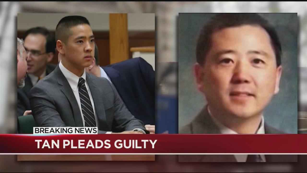 Charlie Tan pleaded guilty to gun charges, did not admit to killing father