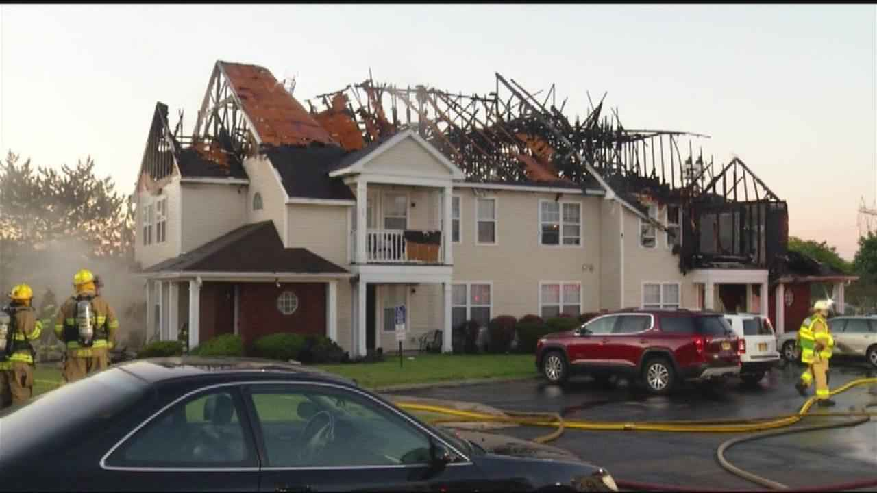 Apartment fire in Henrietta, \'there\'s nothing to come back ...