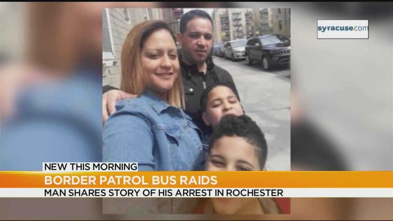 Border Patrol bus raids: Man shares story of his arrest in Rochester