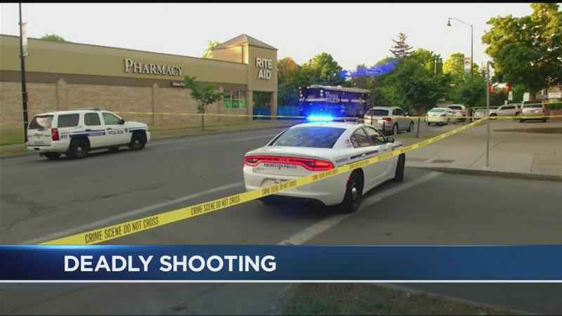 2 men dead, woman injured in shooting on Thurston Road