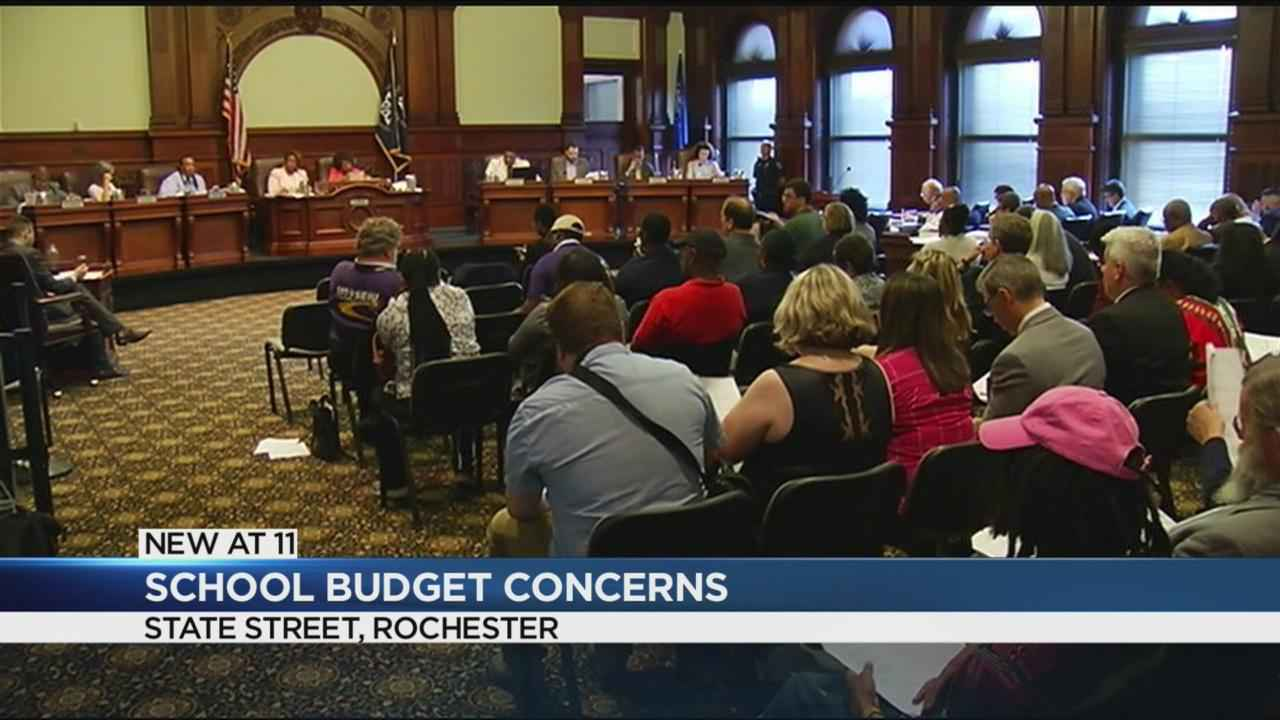 Concerns surface over school budget