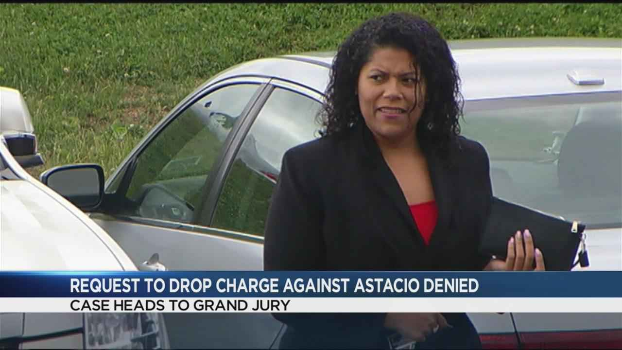 Request to drop gun charge against Astacio denied; case heads to grand jury