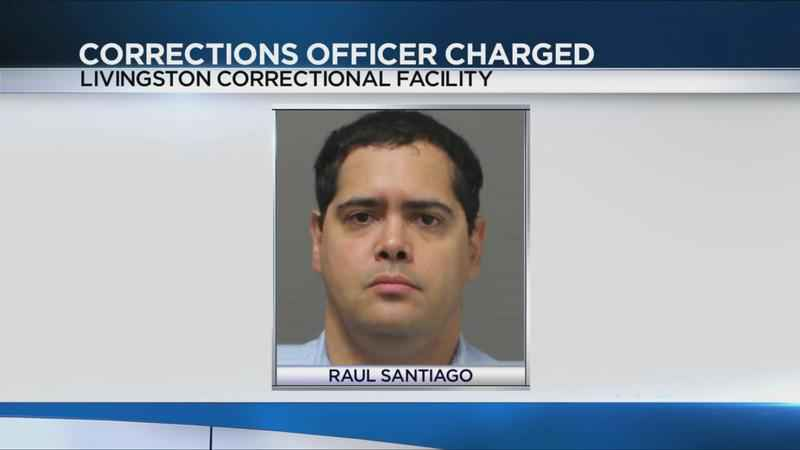 Correctional officer accused of taking bribes