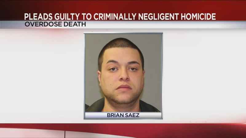 Guilty plea made in overdose death of Gates man