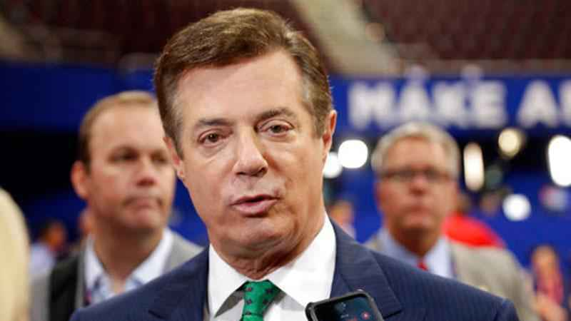 Former Trump campaign chairman Paul Manafort is officially booked into jail