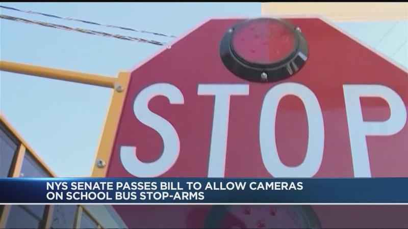 NY Senate passes bill for school bus cameras