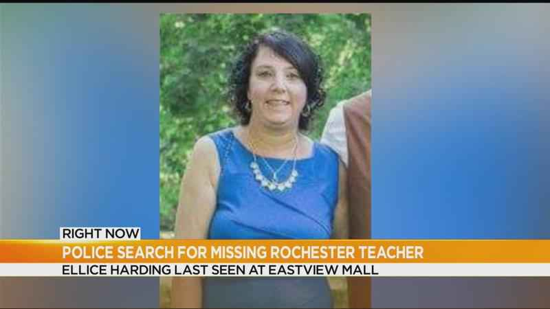 Search expands for missing Rochester teacher