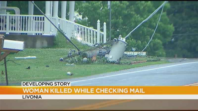 Woman killed while checking mail in Livonia