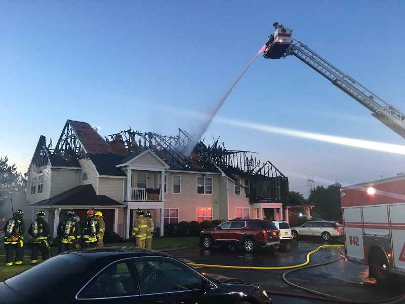 Henrietta apartment complex fire ruled accidental