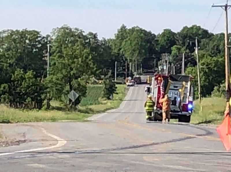2 injured after van collides with tanker truck in Wheatland