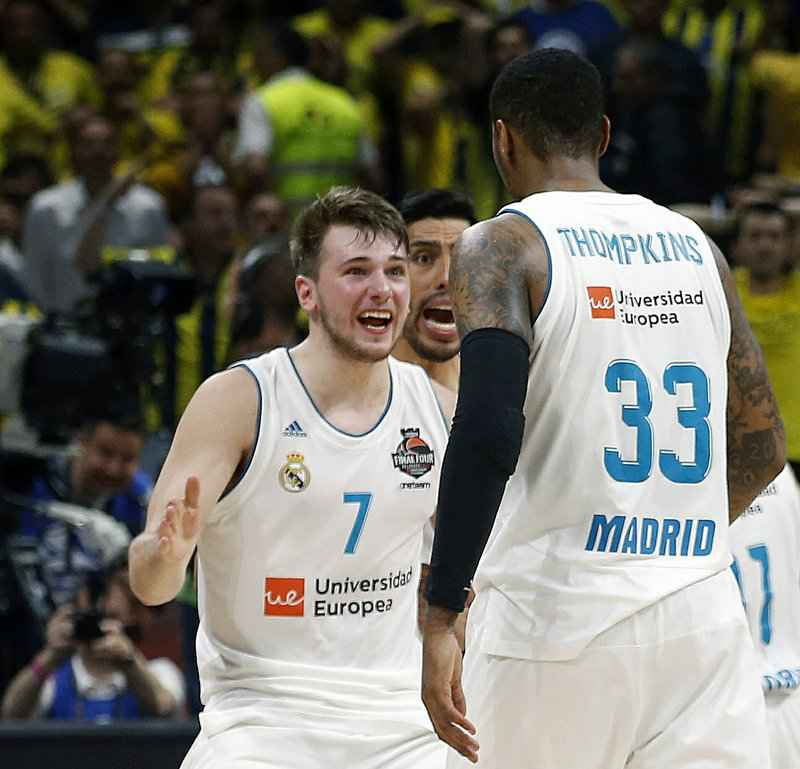 Already a pro, Doncic set to join college stars in NBA draft
