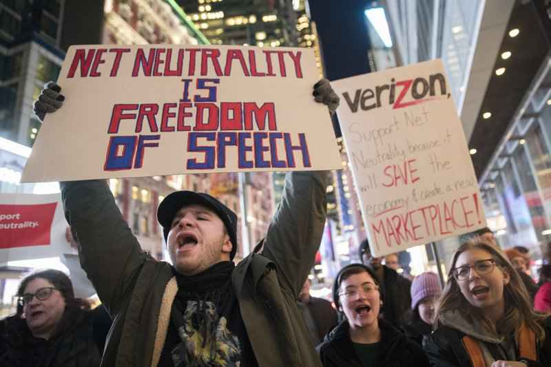 Net neutrality repeal takes effect Monday