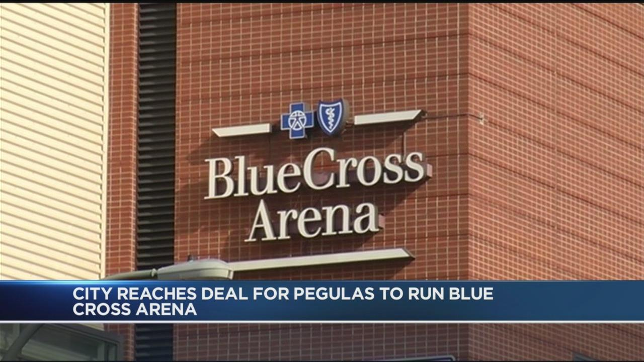 City reaches deal for Pegulas to run Blue Cross Arena
