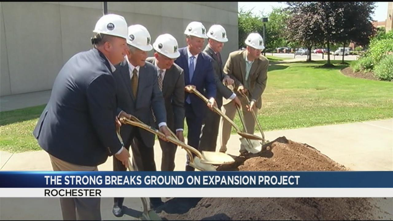 The Strong breaks ground on 'neighborhood of play'