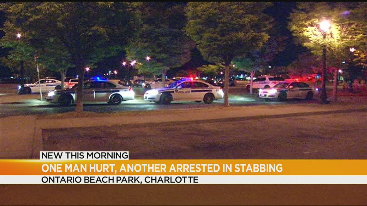 Man stabbed at Ontario Beach Park