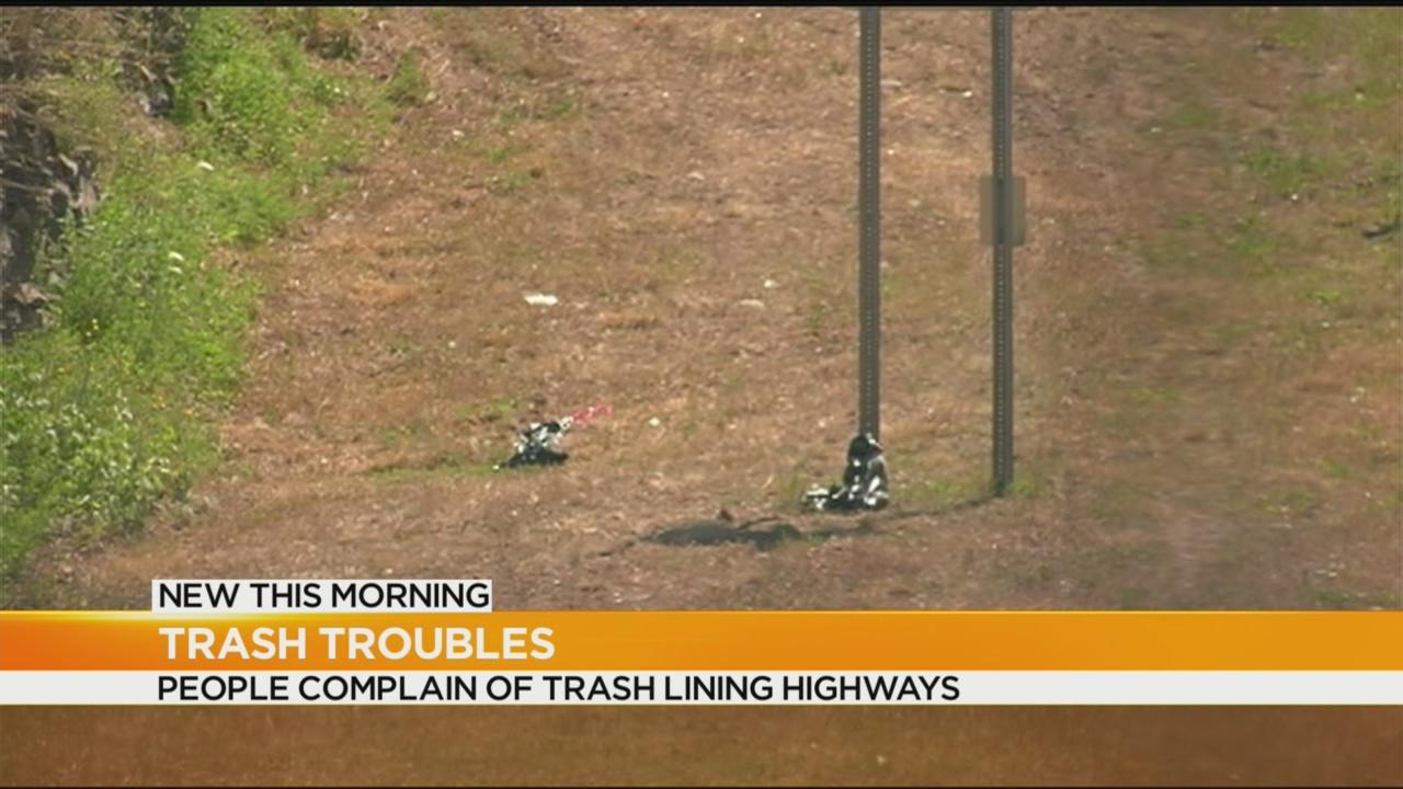 Complaints pile in about trash on highways