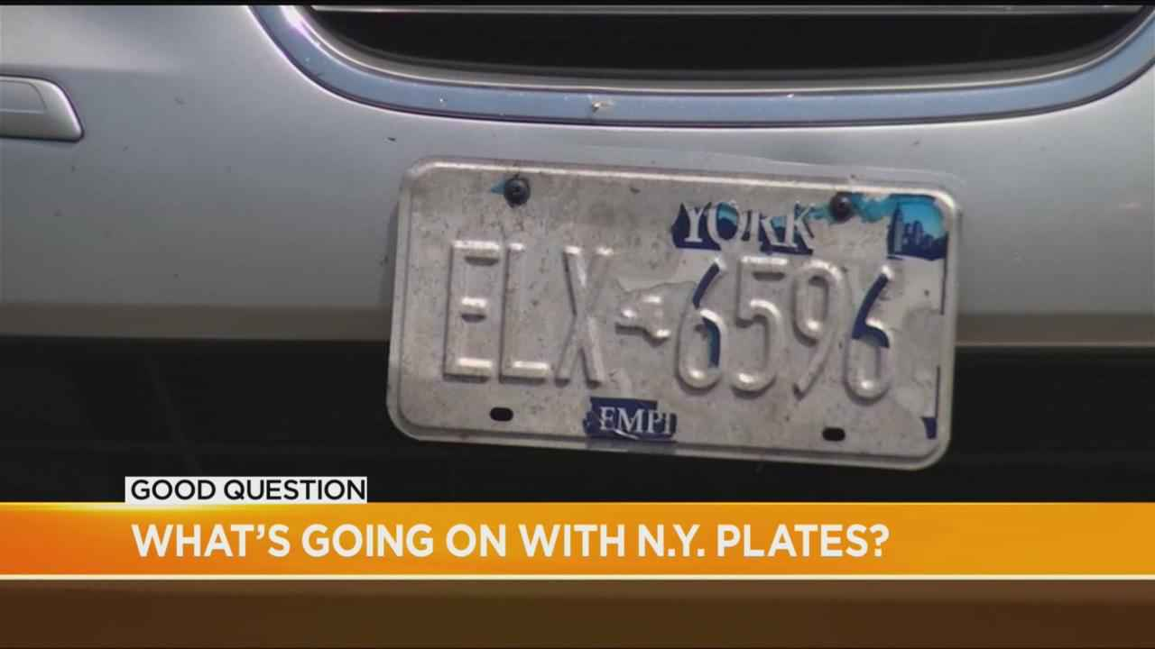 Good Question: Can you get ticketed for a peeling license plate?
