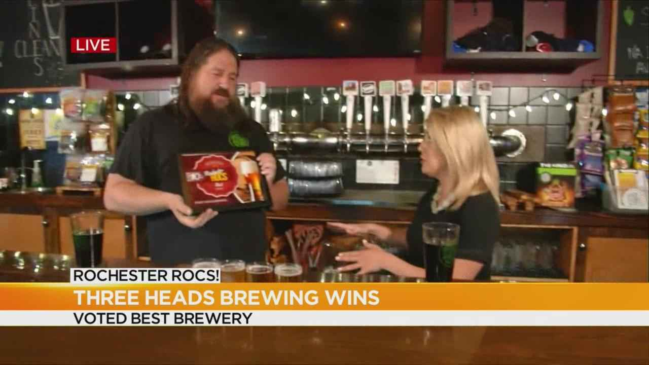 Three Heads Brewing wins Rochester ROCs!