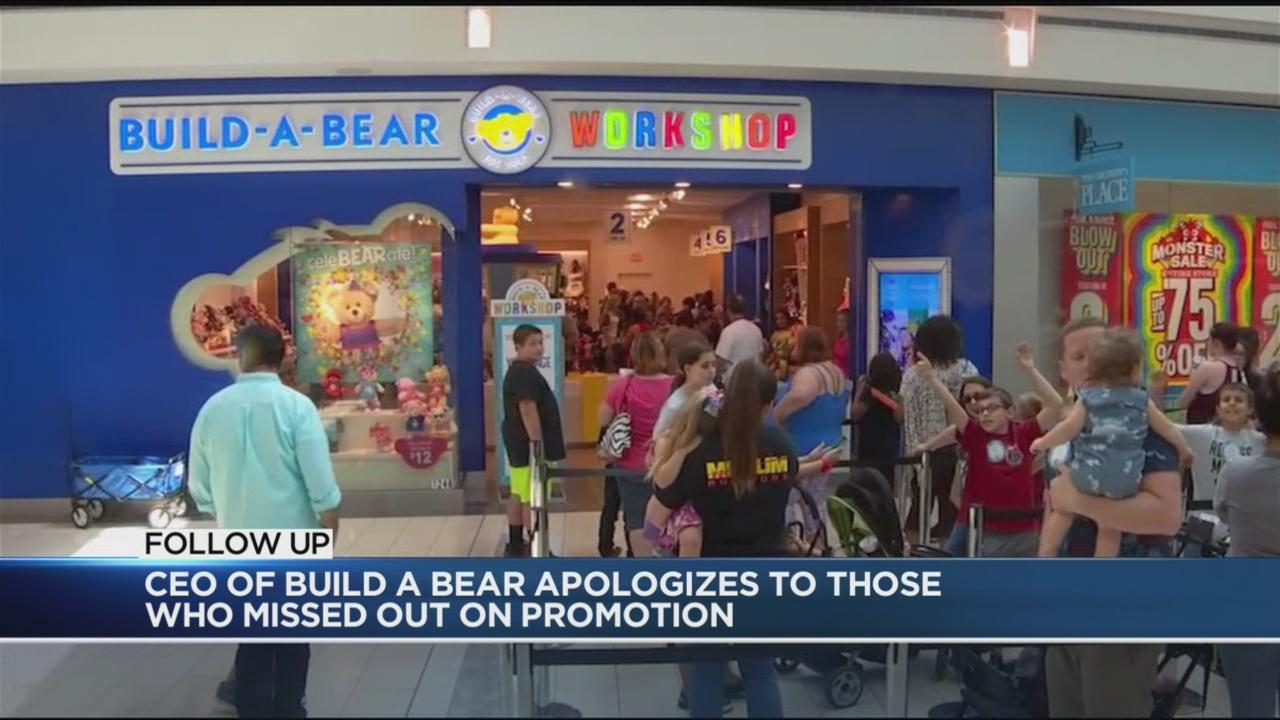 Build-a-Bear CEO Apologizes for Thursday's Sale Fiasco