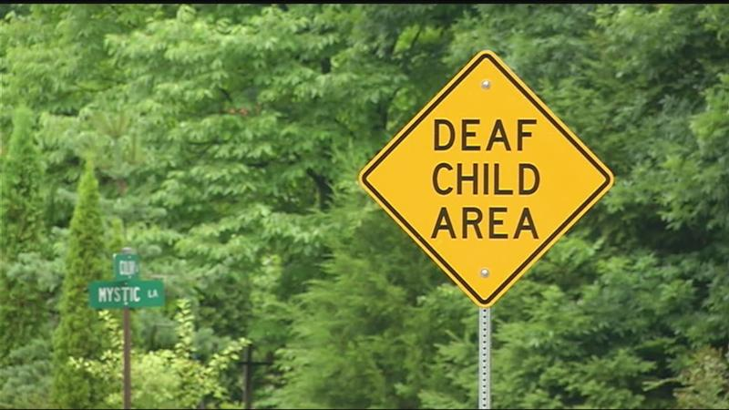 Good Question: How current are deaf and blind child street signs?