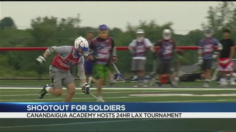 Shootout for Soldiers underway