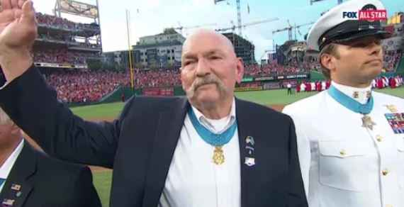 Local hero among Medal of Honor recipients recognized at MLB All-Star Game