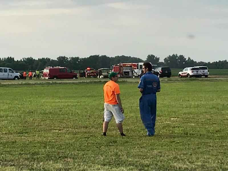 3 injured in plane crash at Geneseo airport