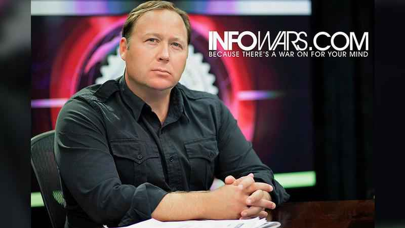 Facebook blocks Alex Jones for 30 days