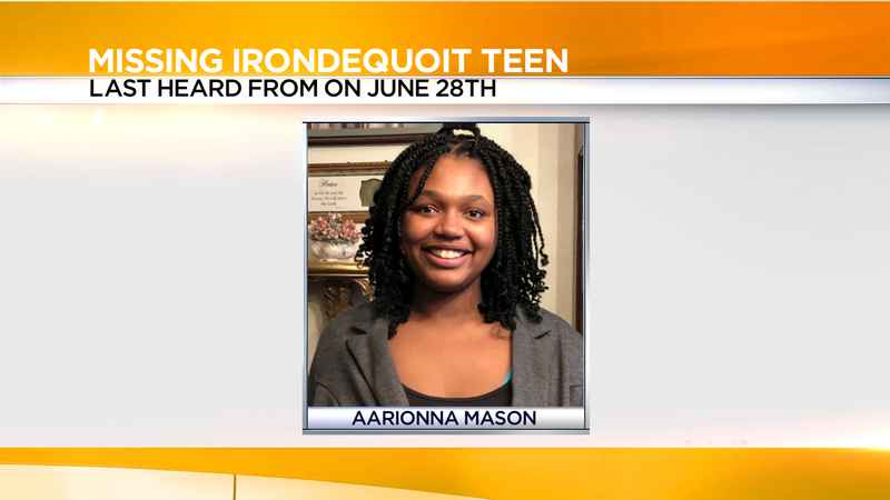 Police search for missing Irondequoit teen