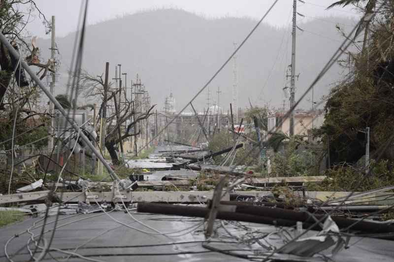 Turmoil slows rebuilding of Puerto Rico's power grid