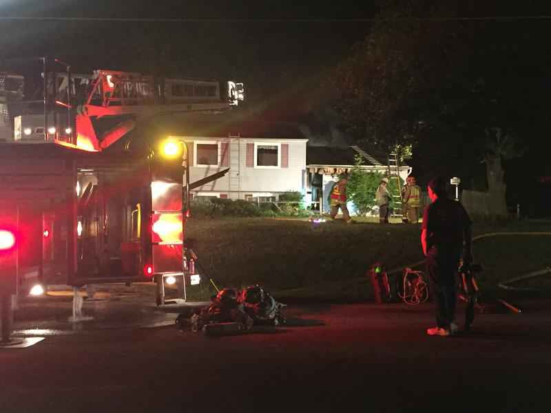 2 escape, cat rescued from house fire in Ogden