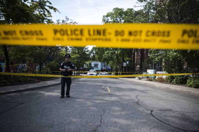 Two dead including gunman, 13 wounded in Toronto shooting