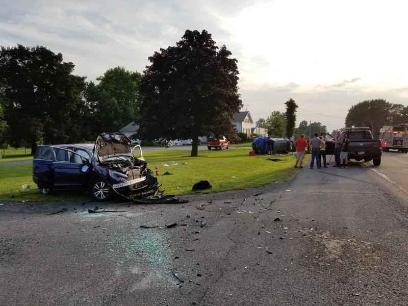 Fatal motor vehicle accident just west of Batavia claims one life