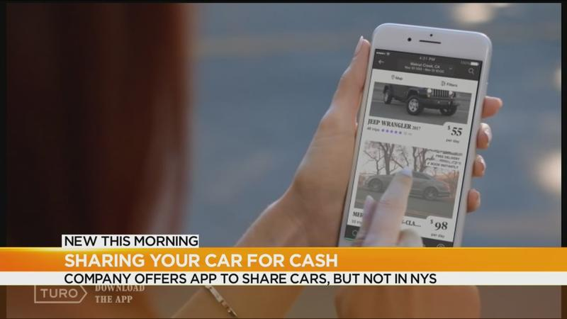 App allows you to rent your car to earn cash