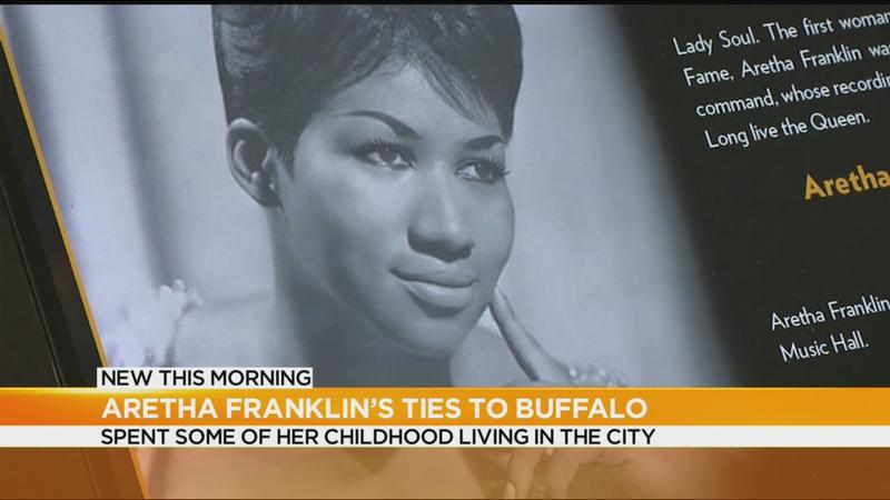 Aretha Franklin's ties to Buffalo