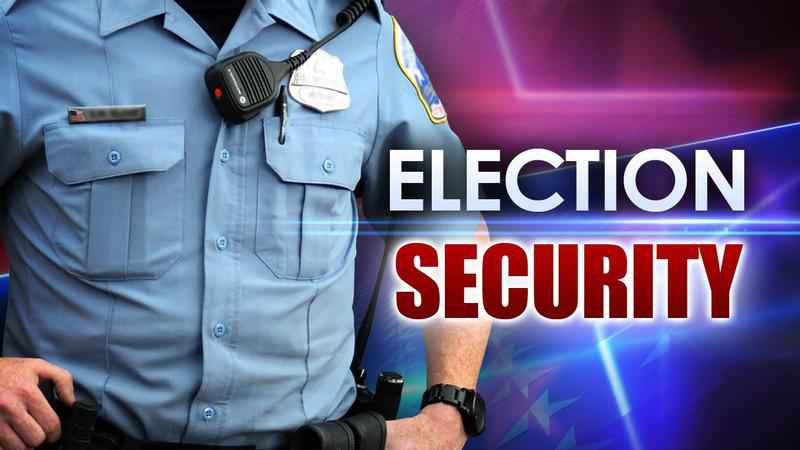 Image result for IMAGES OF ELECTION SECURITY