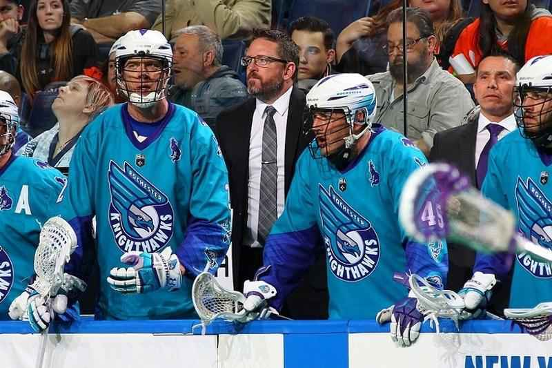 Hasen signs contract extension with Knighthawks <br />