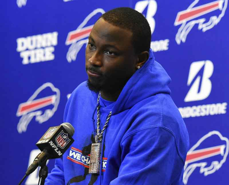 Bills GM backs McCoy; eviction of ex-girlfriend finalized