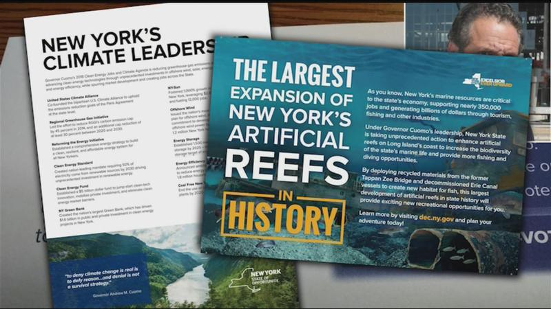 nys exposed taxpayer funded mailers ads praise cuomo ahead of