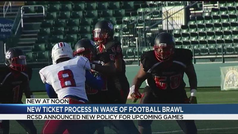 New ticket sale process in place for football games following brawl